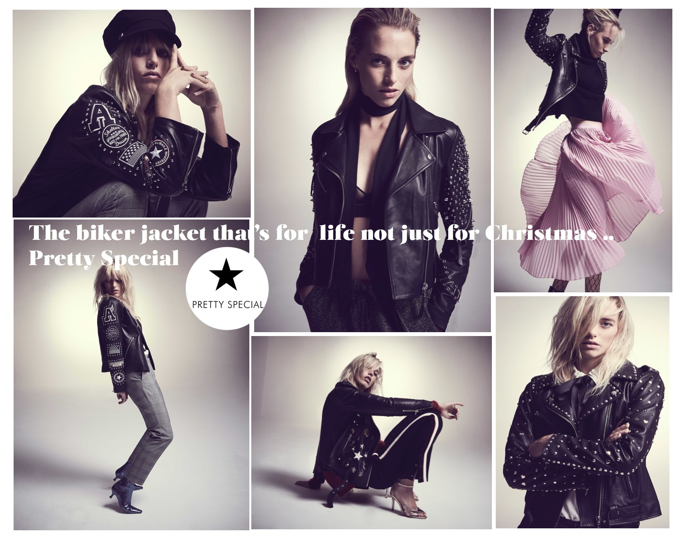 A womens biker jacket is not just for Christmas