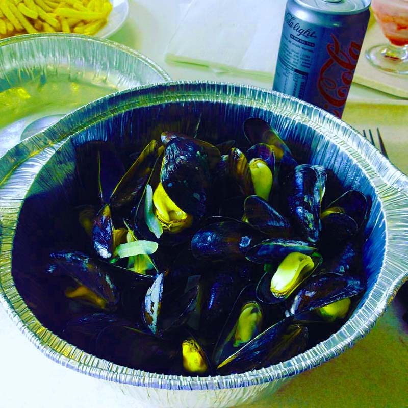 Mussels and frites for lunch Pretty Special Journal