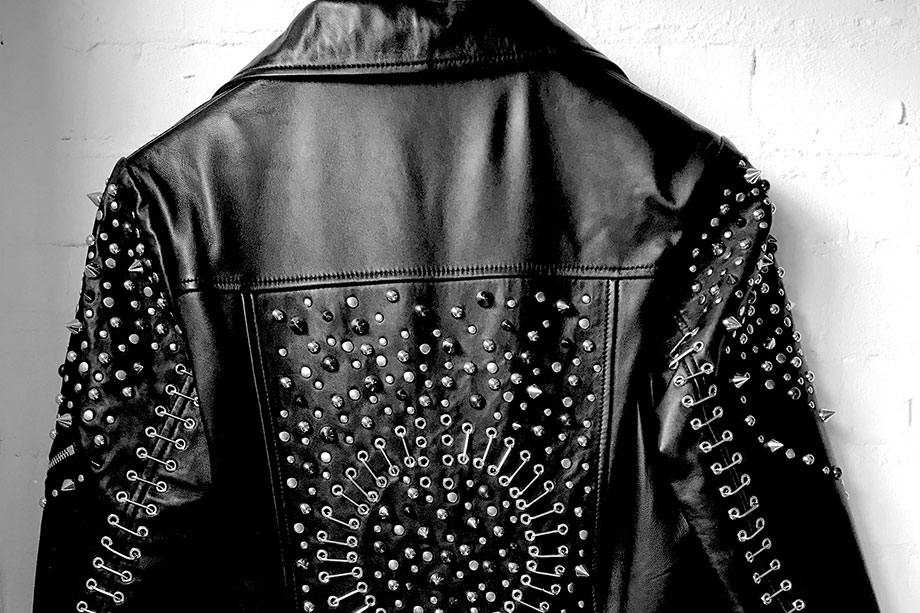 Pretty Special Leather Embellished jackets Journal Website