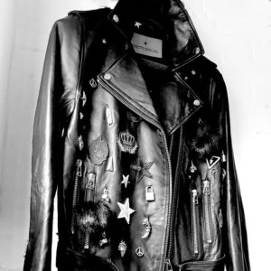 Leather Jacket Embellished Pretty Special